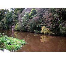 River Almond Photographic Print
