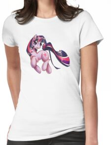 Twilight Sparkle is best Unicorn Womens Fitted T-Shirt