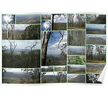 Toowoomba Collage Poster