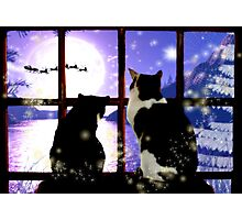 Waiting for Santa Photographic Print