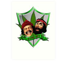 Cheech & Chong - Bong Hits Art Print