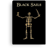 Black Sails Canvas Print