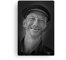 Toothless grin Canvas Print