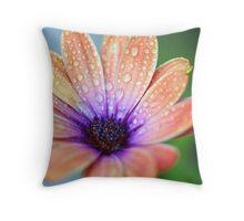 Last Flower Standing Throw Pillow