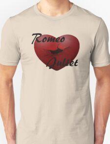 Romeo+Juliet broken heart Unisex T-Shirt