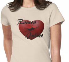 Romeo+Juliet broken heart Womens Fitted T-Shirt