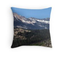 Snow-Capped Peaks Throw Pillow