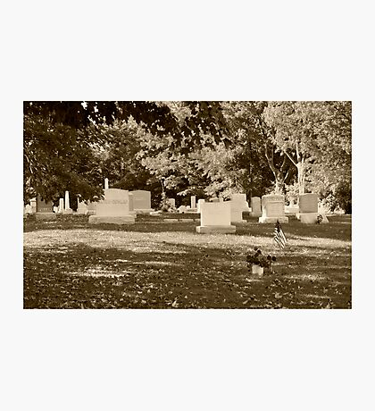 Franklin Cementery Photographic Print