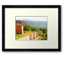 Fields of Umbria Framed Print