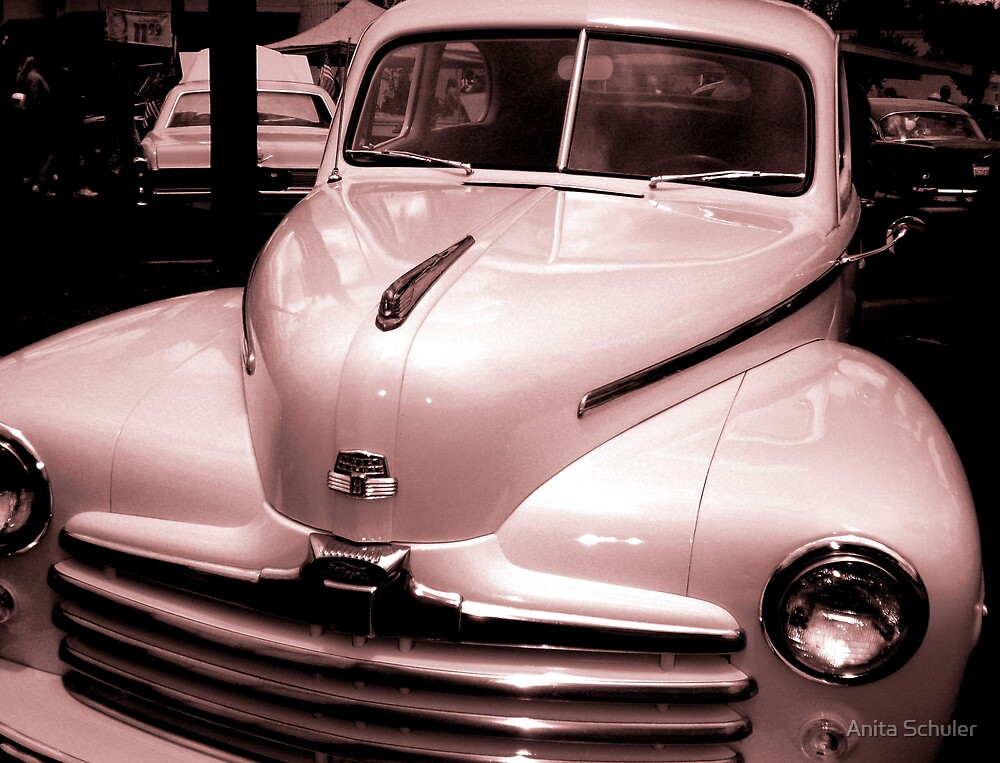 """Super Deluxe Ford  """"Old school"""" by Anita Schuler"""