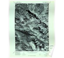 Maine USGS Historical Map Chain Of Ponds 806603 1977 24000 Poster