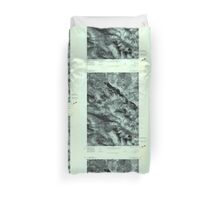 Maine USGS Historical Map Chain Of Ponds 806603 1977 24000 Duvet Cover