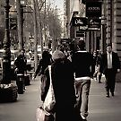 """""""Collins Street, Melbourne """" by Christine  Wilson Photography"""