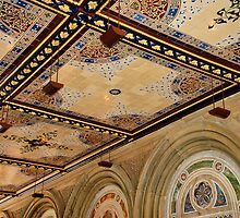 Bethesda Terrace Arcade by joan warburton