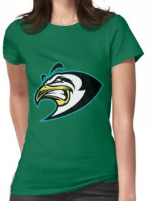 Black Eagle Womens Fitted T-Shirt