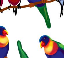 Party birds Sticker