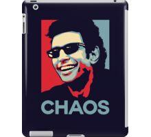Ian Malcolm 'Chaos' T-Shirt iPad Case/Skin