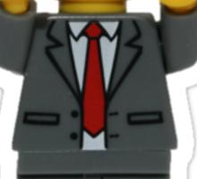 LEGO President Business Sticker