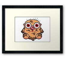 Messy Mole Framed Print
