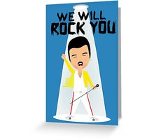 Freddie Greeting Card