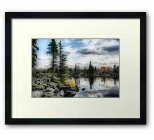 Mysterious Scenery Framed Print