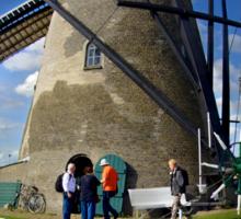 A Kinderdijk Windmill  Sticker