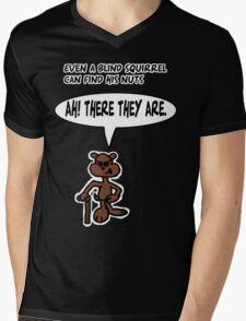 Blind Squirrel 2 Mens V-Neck T-Shirt
