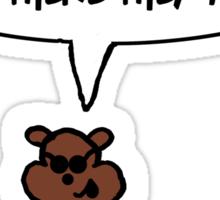Blind Squirrel 2 Sticker