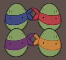 Before they were turtles, they were eggs (dark grey) by Vitalitee