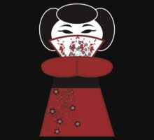 Red 'lil Geisha Girl by KCGraphics