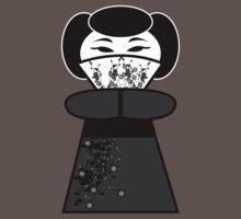 Black 'lil Geisha Girl by KCGraphics