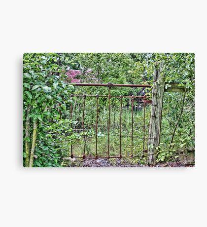 The Gate Canvas Print