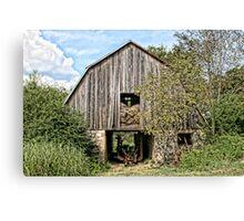 Old Mule Barn Canvas Print