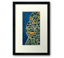 Mosaic Nude Framed Print