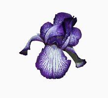Purple Iris Womens Fitted T-Shirt