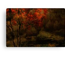 Fall Arrives Canvas Print