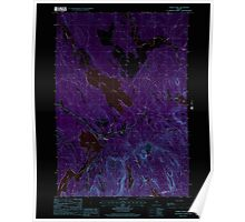 Maine USGS Historical Map Chemo Pond 105021 1988 24000 Inversion Poster