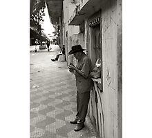 authentic street Photographic Print