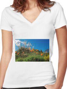 Celebrating Spring Women's Fitted V-Neck T-Shirt