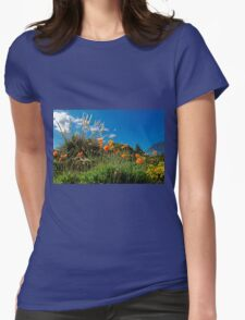 Celebrating Spring Womens Fitted T-Shirt