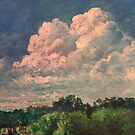 Just Clouds by Randy  Burns
