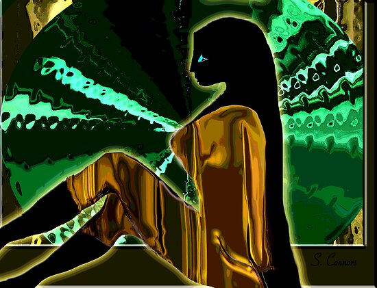 Modern Psychedelic -- The Golden Jumper by Susan Connors