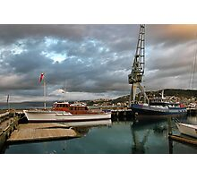 The Crane, Queens Wharf Photographic Print