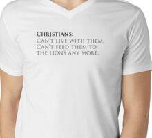 120 Chritians Mens V-Neck T-Shirt