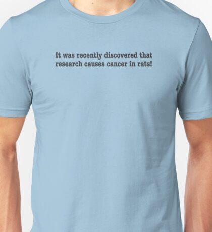 125 Rat Cancer Unisex T-Shirt