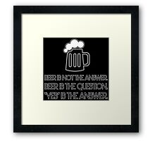Beer  Framed Print