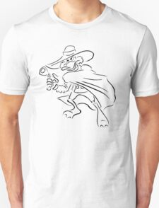 Darkwing Duck Celtic Colored Unisex T-Shirt