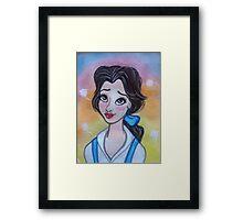 Princess Belle Framed Print