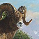 Goat by artbyakiko
