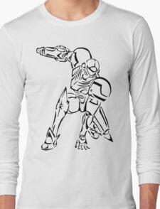 Samus Aran Celtic Long Sleeve T-Shirt